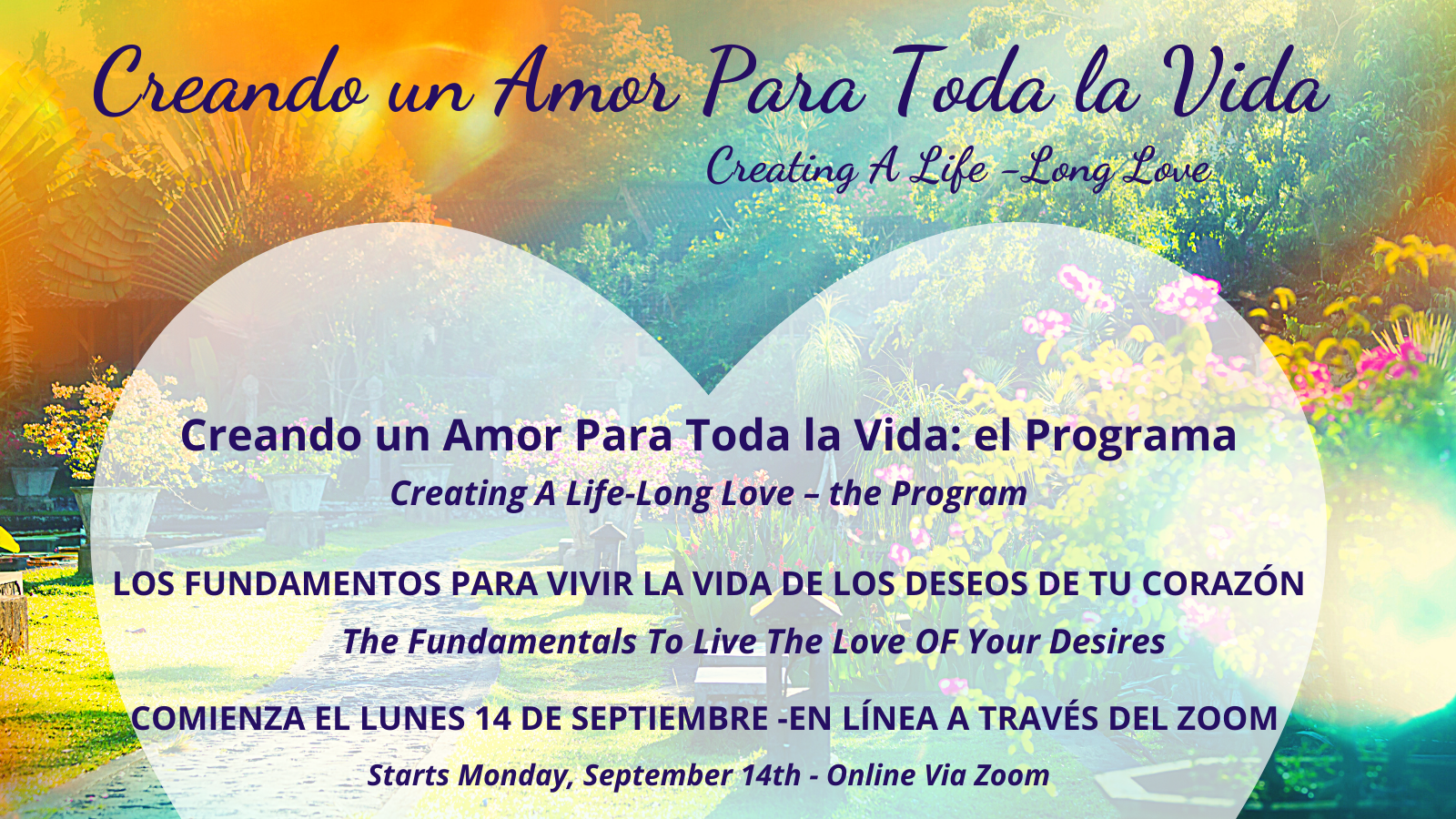 overview graphic for the sales page for creating a life-long love/bilingual program