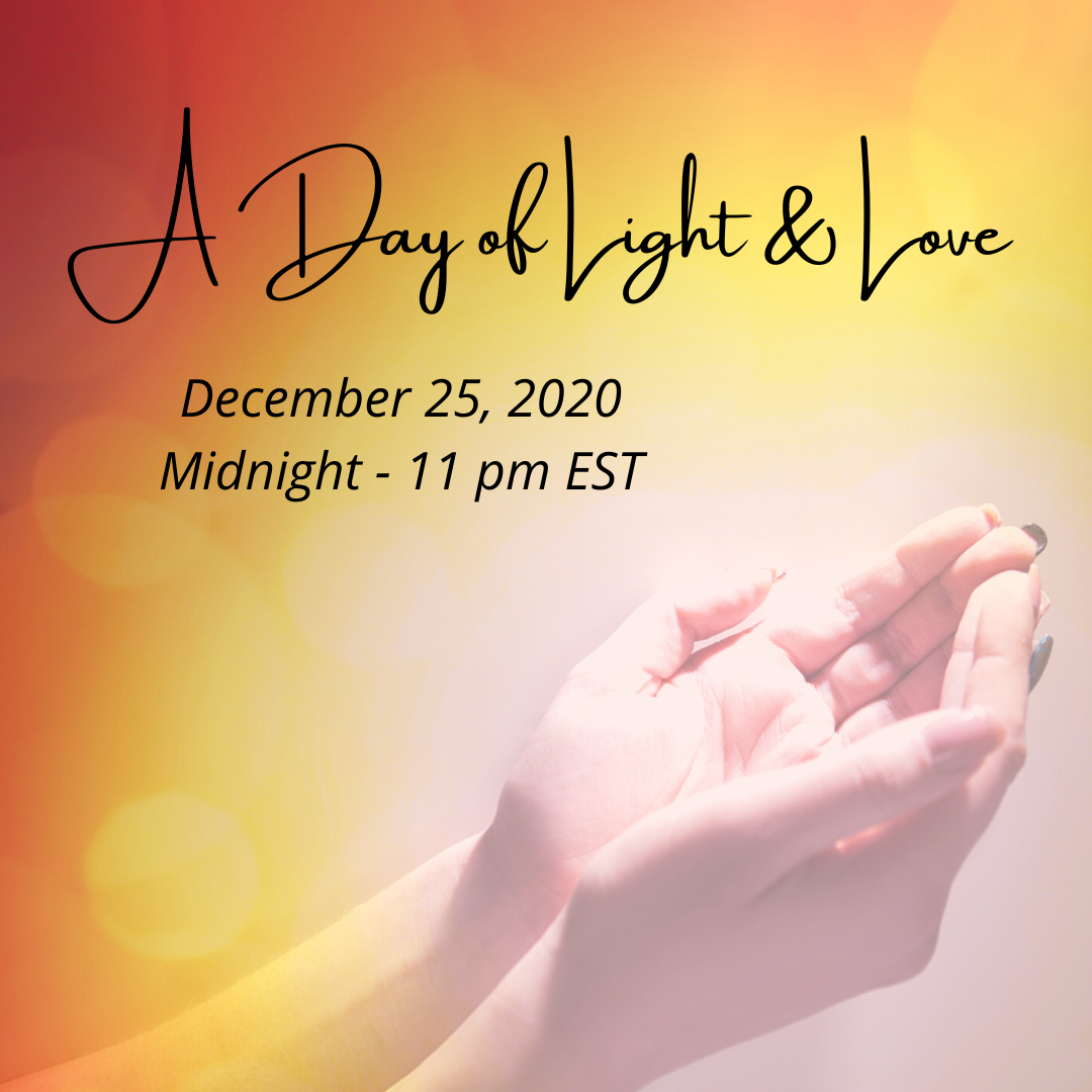 A Day Of LIght & Love graphic